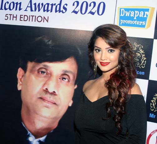 ada khan  Sudesh Bhosle and others received 5th Bharat Icon Awards ada khan