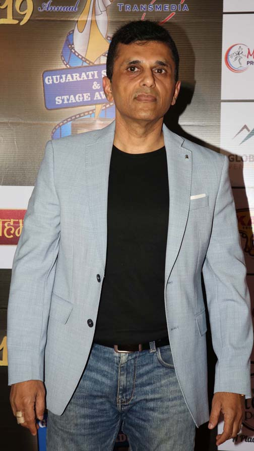 anand pandit  Daisy Shah and others at Transmedia Gujarati Screen & Stage Awards anand pandit