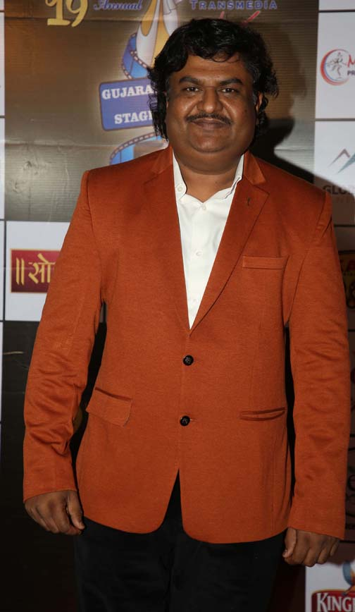 osman mir  Daisy Shah and others at Transmedia Gujarati Screen & Stage Awards osman mir